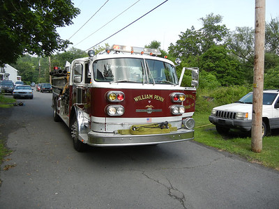 WEST MAHANOY TOWNSHIP VEHICLE FIRE 6-12-2011 PICTURES BY COALREGIONFIRE