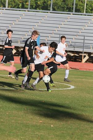 JV Boys Soccer vs Highland