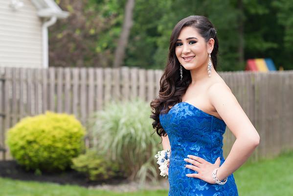 Sriya's  Senior Prom