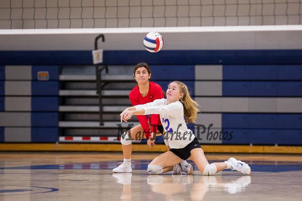 2020-10-19 WHS Girls Volleyball vs Spaulding