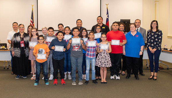 Board Recognition May 2019
