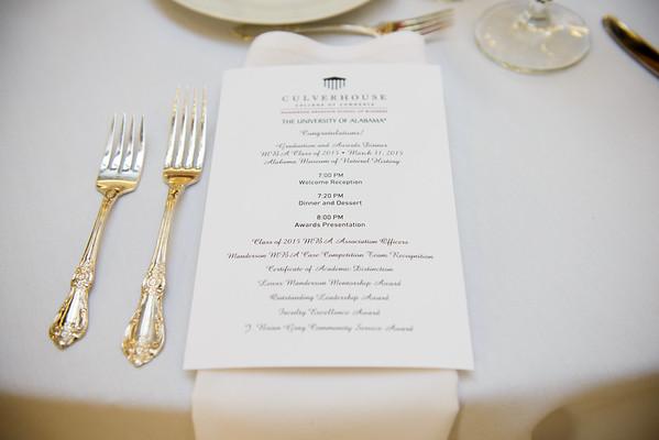 Graduation Dinner 2015