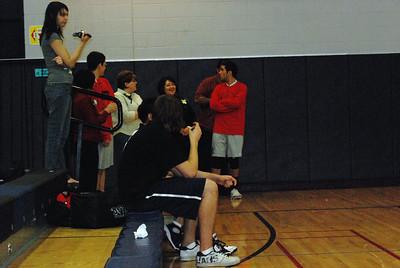 varsity volleyball senior night