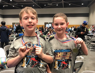 LS Chess at State Tournament 4-27-19
