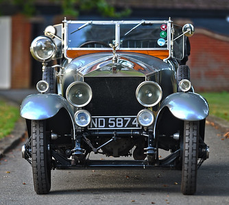 1924 Rolls-Royce Silver Ghost Barrel Sided Open Tourer in the style of Barker ND 5874