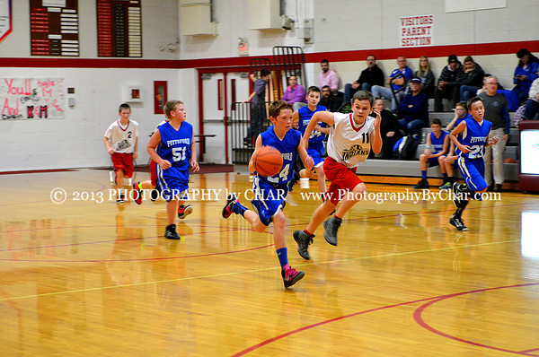 Tekonsha vs Pittsford MS Basketball 11-20-2013