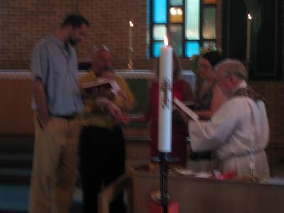 Alex's Baptism - June 27, 2010