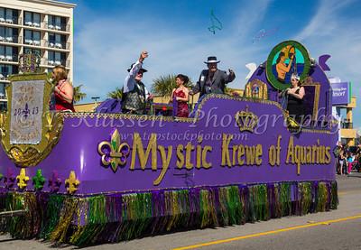 Galveston, Mardi Gras Festival Parade