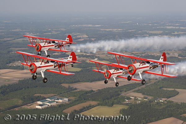 Red Baron Pizza Squadron Photo Flight