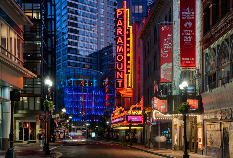 The Paramount in Boston