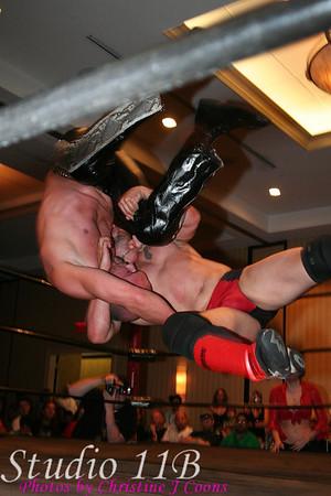 Saturday Matches 05 Damien Wayne vs Shawn Davies with Shy
