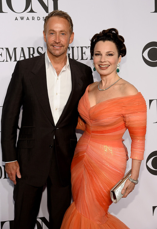 . Peter Marc Jacobson (L) and actress Fran Drescher attends the 68th Annual Tony Awards at Radio City Music Hall on June 8, 2014 in New York City.  (Photo by Dimitrios Kambouris/Getty Images for Tony Awards Productions)