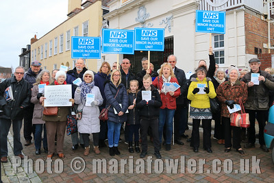 Save Our Minor Injuries Unit