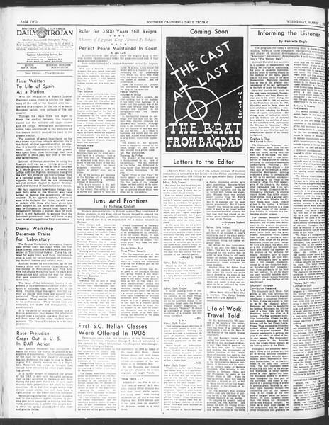 Daily Trojan, Vol. 30, No. 88, March 01, 1939