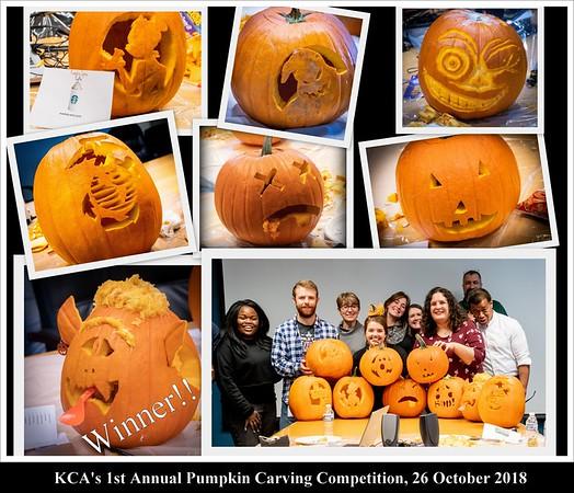 Pumpkin Carve Competition