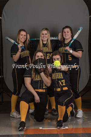 Framingham softball headshots