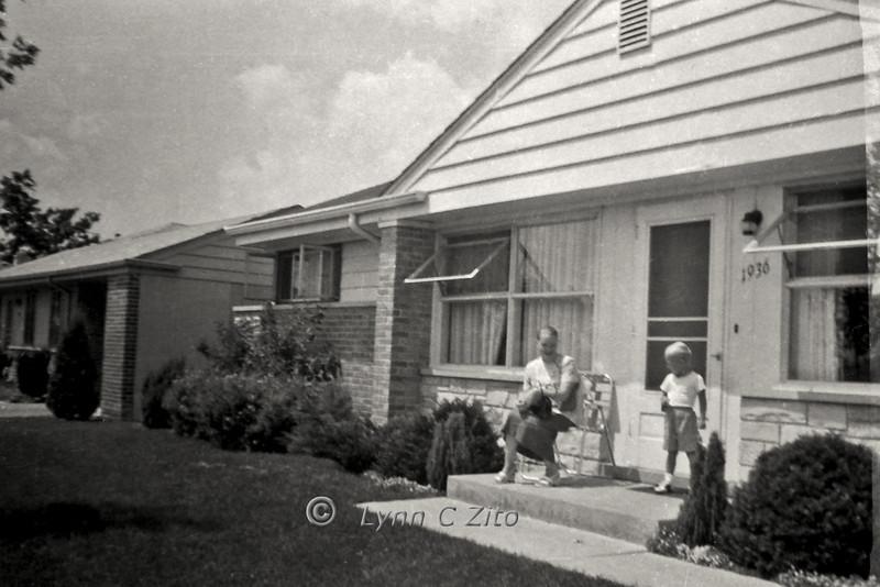 MOM & DANA JULY 1957