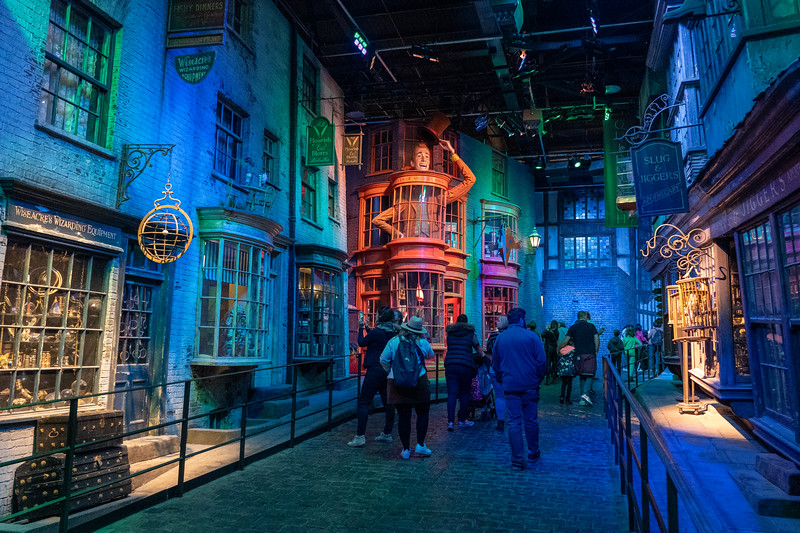Diagon Alley set