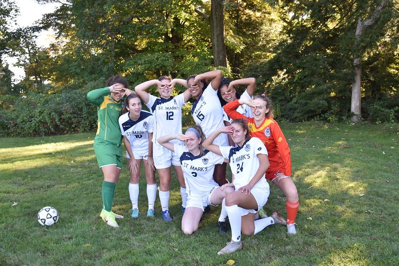 V girls soccer seniors silly.JPG