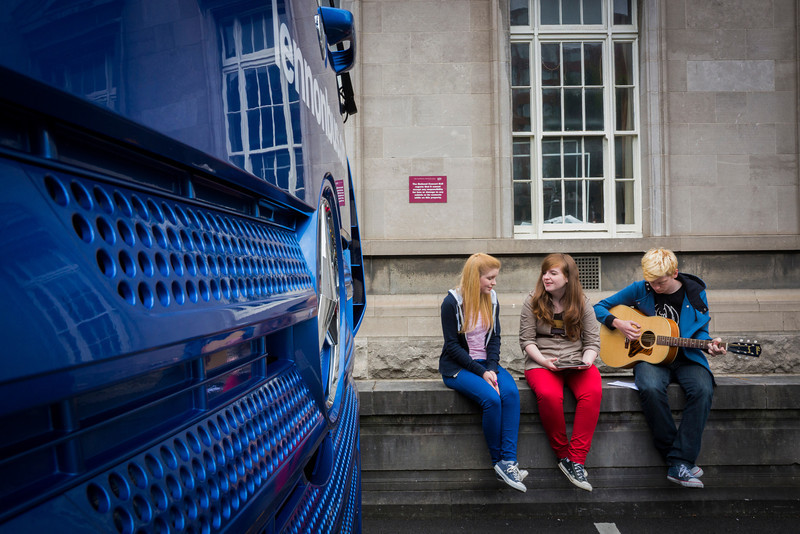 2013_08_07, Dublin, Ireland, Student Recording Session, Student Session, Music Generation, lennonbus.org, eu.lb.org, JLETB, The National Concert Hall, EU, Gibson, Epiphone