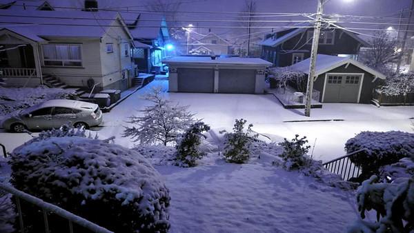 Snowstorm Timelapse