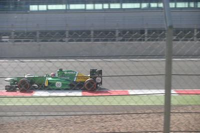 F1 testing July 2013