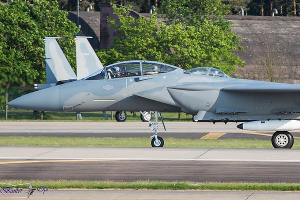 RAF Lakenheath : Monday 14th May 2018