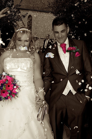 Lucy & Adam , Wick & Thornbury Golf Centre