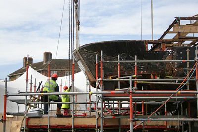 Cutty Sark renovation