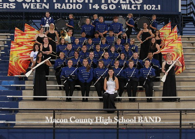 MCHS Band Picture Day 2011