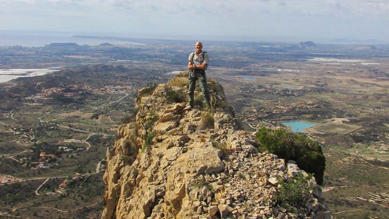 On the Cabezon Ridge summit