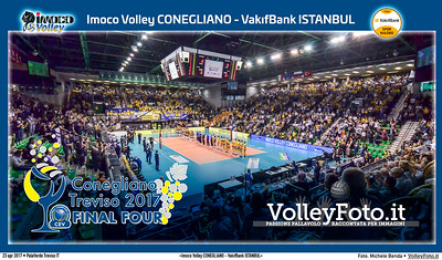 «Imoco Volley CONEGLIANO - VakıfBank ISTANBUL» #CLF4Treviso #Final