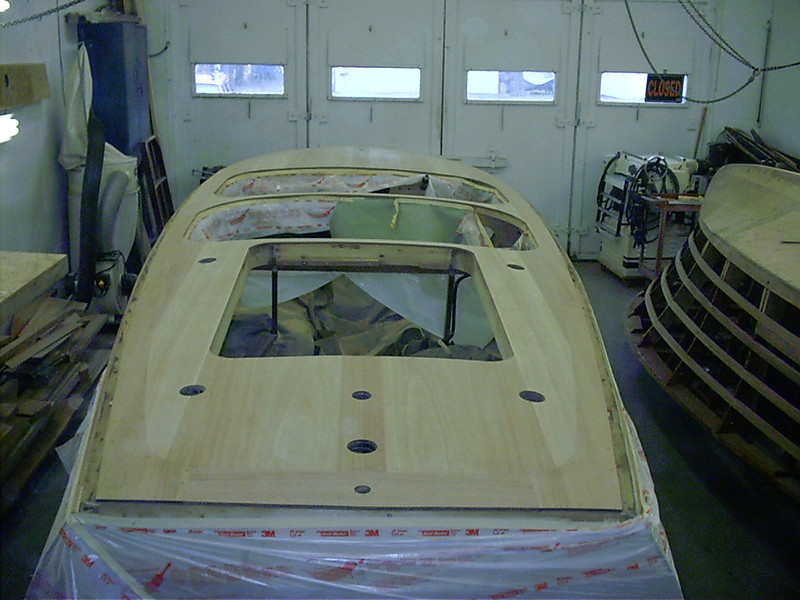 Another view of rear deck.