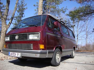 91 Vanagon Passenger Van