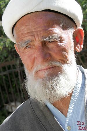 Portrait Kyrgyzstan: men in Arslanbob 5