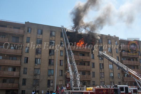 Hempstead 2nd Alarm Apartment Fire 04/20/2021
