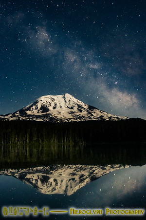 Washington Coast and Mt Adams