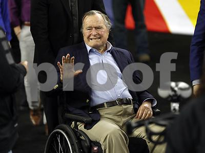 former-president-george-hw-bush-hospitalized-in-houston