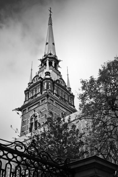 Church Spire / Шпиль церкви