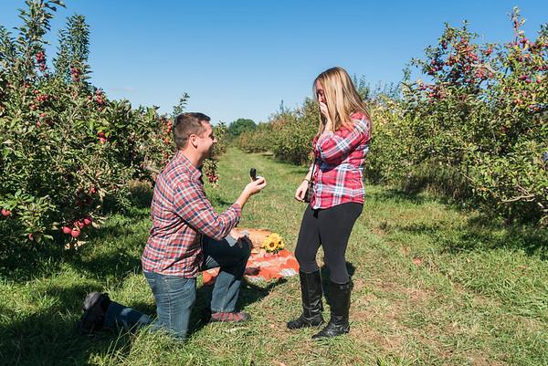 Michelle & Chris' Proposal