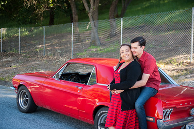 Janet + Jose Engagement Session in San Jose with Jen Vazquez Photography