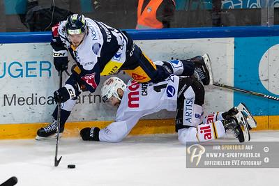 National League Playoff Viertelfinal (1): EV Zug - HC Lugano