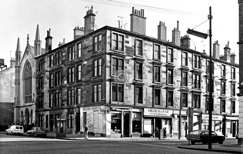 Kent Rd / Elderslie St.  Kent Road U F Ch.  January 1976