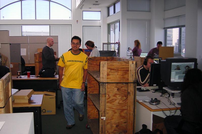 2004 01/29 to 01/30: Naughty Dog Building Crew