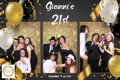 Gianni's 21st Birthday