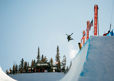 Dec 6-8, 2017 - Copper Mountain halfpipe World Cup