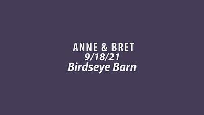 ANNE & BRET