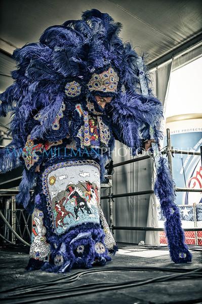 Black Seminole Mardi Gras Indians @ Jazz & Heritage Stage (Thur 5/3/12)