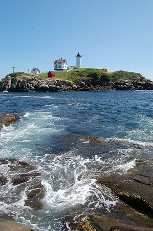 Journal Site 204: Nubble Lighthouse, York, Maine - Aug 17, 2011