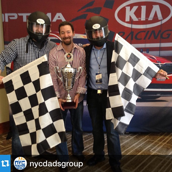 #Repost @nycdadsgroup ・Vroom! Awesomeness happening with @kiamotorsusa @kia at #dad2summit with @dadarocks #citydads #kiadad